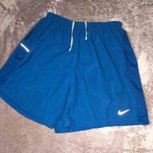 Nike Blue Athletic Dri Fit Shorts